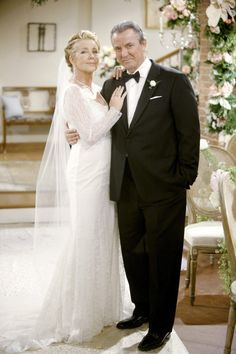 Victor and Nikki Newman (Eric Braeden & Melody Thomas Scott ) remarry for the 4th time. March 2013.