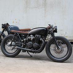 1978 Honda CB550 Cafe Racer by Ironwood Custom Motorcycles #caferacer #bratstyle