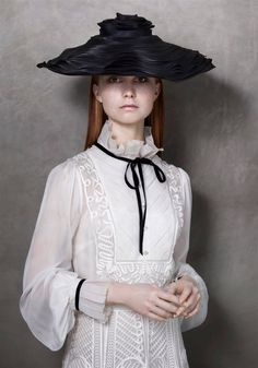 Lady's Day, Couture Hat by Prudence Millinery for Lock Couture SS2018 Collection