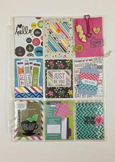 Mrs Crafty Adams: Pocket Letters #pocketletter #pocketletterpals Simple Stories DIY Boutique