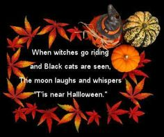 Halloween Quotes, Sayings And Halloween Poems | Halloween Quotes, Sayings  And Halloween Poems | Pinterest | Halloween Quotes, Halloween Poems And  Happy ...
