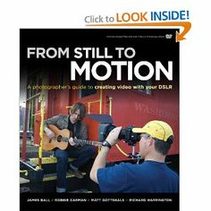 Another good DSLR Cinematography book, follows the shooting of a music video and shows a few tricks for production value.  A