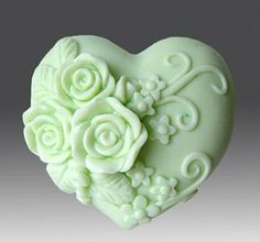 Gorgeous 3D heart mold for soaps and/or candles by FrenchKissByZei