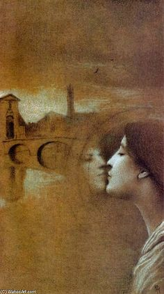 My Heart Cries for the Past, Fernand Khnopff