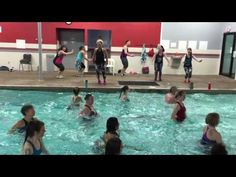 AQUA ZUMBA WARMUP with ZES Kelly Bullard and AZ zins - DJ FRANCIS warm up