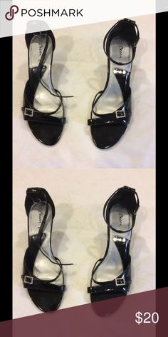 Black High heel Shoes Beautiful pair of shoes to wear them anytime, a summer night or an evening occasion. Shoes Heels