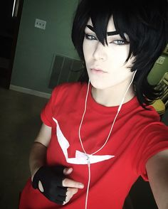 Keith cosplay from Voltron Legendary Defender