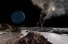 Oamanhecer nos planetas doSistema Solar - Netuno