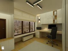 Gabinet, styl nowoczesny - zdjęcie od Katarzyna Jaskulska Projektowanie Wnętrz