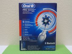 ORAL-B PRO 5000 SmartSeries Rechargeable Toothbrush Bluetooth NEW OPEN BOX #OralB