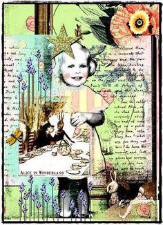 Alice in wonderland digital photography