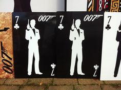 It's the little touches to a room that make it truly special.   Add props to your casino party like James Bond Cards
