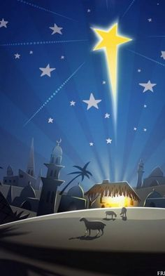 Christmas Star wallpaper by - 64 - Free on ZEDGE™ Christmas Jesus, Christmas Nativity Scene, Christmas Star, Merry Christmas, Star Of Bethlehem, Christmas Paintings, O Holy Night, Vintage Christmas Cards, Christmas Wallpaper