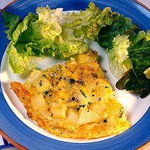 Tortilla de patata y queso