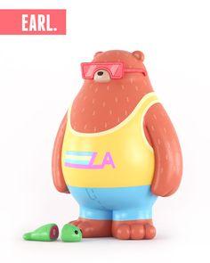 Earl. Bear toy design. IdN™ Creators® — Yum Yum (London, UK)IdN™