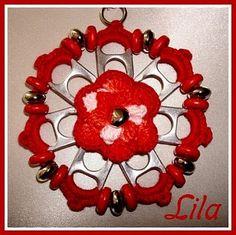 flor de lacre de latinha
