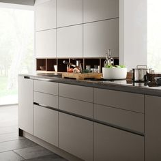 Modern kitchen cabinets images modern grey kitchen cabinet design modern kitchen design ideas with island . Modern Grey Kitchen, Contemporary Kitchen Cabinets, Contemporary Kitchen Design, Modern Contemporary, Minimalist Kitchen, Contemporary Building, Contemporary Cottage, Contemporary Apartment, Contemporary Wallpaper