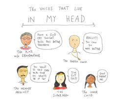 The Voices That Live in My Head | Mari Andrew in A Cup of Jo