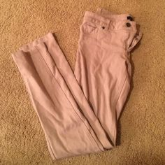 Beige jeggings (Active skate shop) From active skate shop! Mint condition never been worn Timing Pants Leggings