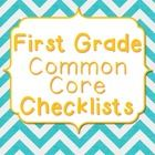 Common+Core+Checklists+for+First+Grade:  These+checklists+will+help+you+stay+organized+throughout+the+school+year.+IF+YOU+PURCHASE+THIS+PRODUCT+PLE...