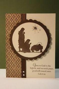 Ideas for diy christmas cards handmade nativity Christian Christmas Cards, Religious Christmas Cards, Beautiful Christmas Cards, 3d Christmas, Christmas Greetings, Christmas Ideas, Christmas Brunch, Christmas Nativity, Christmas Lights