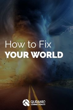 Islamic Article and Video on How to fix your world. We all want to have a good impact on others and leave behind a legacy that will count on the day of judgement. In this Quran based lesson we learn one of the most effective ways to succeed. Islamic Teachings, Islamic Quotes, Islam Marriage, Learn Quran, Islamic Videos, Fix You, Self Development, Better Life, Self Improvement
