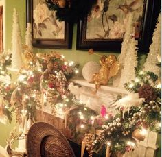 Amy's mantel is simply gorgeous!