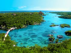 Xel-Há Xel-Ha Park is aquatic theme park and ecotourism development located on the Caribbean coast of the state of Quintana Roo, Mexico. All-inclusive, snorkeling, food, drink.