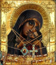 The wonderworking icon of the Mother of God of Korsun.