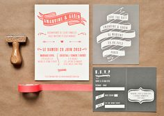 Mister M Studios - Modern Wedding Stationery for the Designer Bride | OMG I'm Getting Married UK Wedding Blog | UK Wedding Design and Inspiration for the fabulous and fashion forward bride to be.