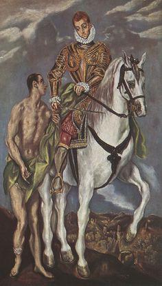 San Martín y el mendigo 1604. Washington.