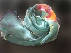 Check out this item in my Etsy shop https://www.etsy.com/listing/241210748/handpainted-silk-chiffon-scarfdeep