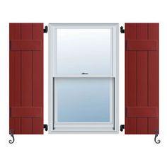 Exterior Window Shutters, Exterior House Shutters, Exterior Vinyl Shutters, Vinyl Shutters, Outdoor Window Shutters -- Shutters -- by Architectural Depot - Call us today at: Outdoor Window Shutters, Exterior Vinyl Shutters, House Shutters, Interior Shutters, Wood Shutters, Window Panels, Window Boxes, Window Trims, Craftsman Exterior