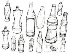 Industrial Design in Victoria Australia: O-I Glass - RMIT University competition winners Industrial Design Sketch, 2d Design, Sketch Design, Volume Art, Sketch Inspiration, Design Inspiration, Bottle Drawing, Design Presentation, Object Drawing