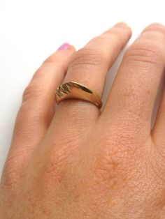10K Mountain Ring by CaitlynRoseJewellery on Etsy
