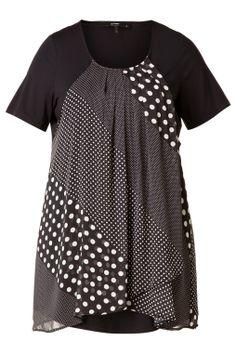 Tuniek Jell, X-two Mini Dress::jurken::Grote maten - mode online | Gratis verzendig | Bagoes fashion