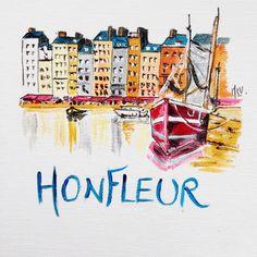 Mon panneau de table Honfleur pour mon #mariage