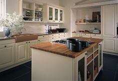 Eine Landhausküche mit Nostalgie-Faktor
