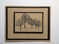 Fairly Crafty: Winter Woods Birthday Card
