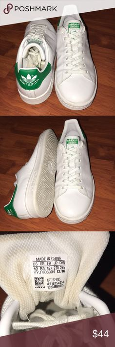Green and white Adidas Stan Smith Brand new, Adidas green and white Stan Smith adidas Shoes Sneakers