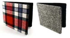Prix Prix Recycled Shirt and Suit Wallets. $30 | shop.prixprix.com