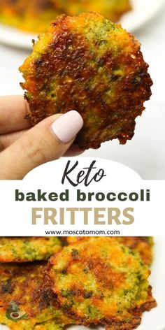 Diabetic Side Dishes, Low Carb Side Dishes, Burger Side Dishes, Healthy Side Dishes, Healthy Low Carb Recipes, Keto Recipes, Cooking Recipes, Broccoli Fritters, Low Carb Vegetables