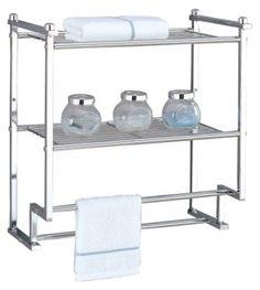 2-Tier Wall Mounting Rack w/ Towel Bars @ One Kings Lane $30