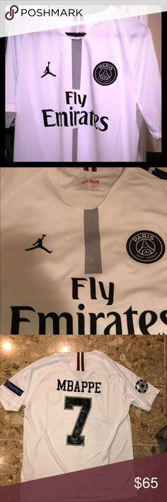 3bf16d0159121 Paris Saint Germain PSG Kylian Mbappe Jersey I am selling a brand new  Jordan Brand PSG