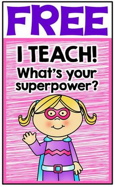 FREE superhero-themed color posters & blackline coloring sheets for… Kindergarten Party, Beginning Of Kindergarten, Beginning Of School, New School Year, Superhero School Theme, School Themes, Classroom Freebies, Classroom Themes, Super Reader