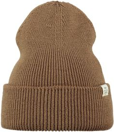 The Barts Kinabalu beanie is a pointy fine knit beanie that you wear slightly higher on top of your head.