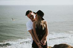 Kari + Andrew » El Matador Beach Engagement » Krista Ashley Photography