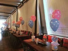 mesa dos convidados festa galinha pintadinha