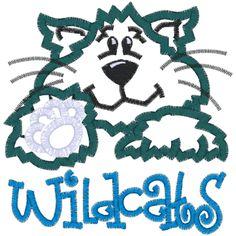 1000 Images About Wildcats On Pinterest Applique