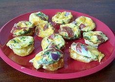 Mini Frittata recipe. Perfect for lunch box.